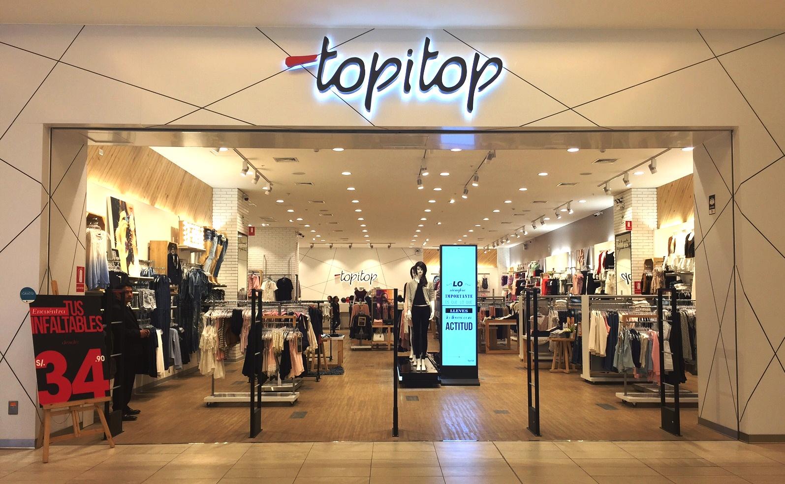 topitop frontis tienda jockey - Topitop abrirá un centro comercial en Trujillo