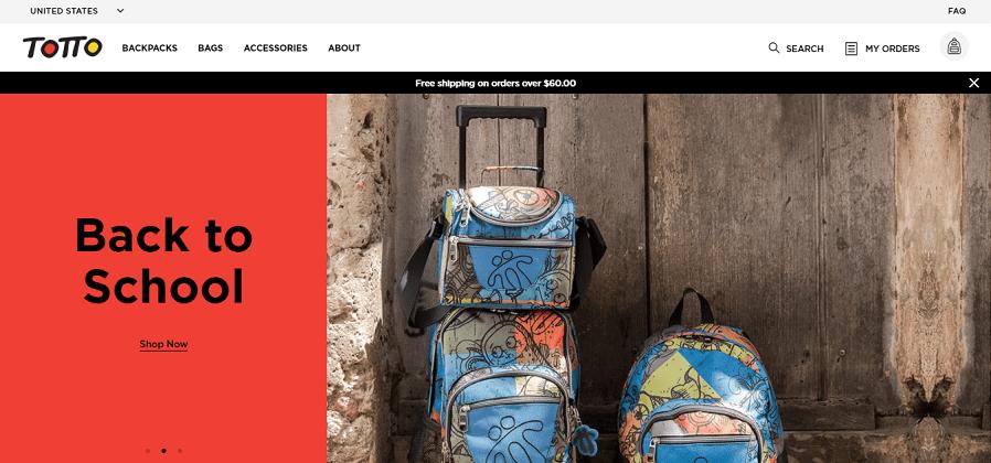 totto tienda online estados unidos - Totto lanza tienda online en Estados Unidos a un año de abrir su primer local en el país