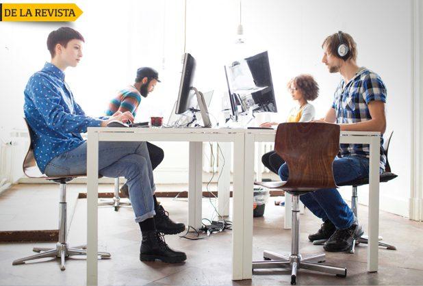 trabajo millennials 1 - Tendencias: Oficinas para millenials