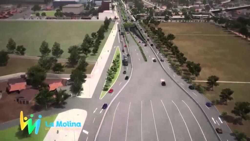 tunel la molina 2 Perú retail 1024x576 - ¿La Molina y Surco unidos por un túnel? Intercorp haría realidad obra vial