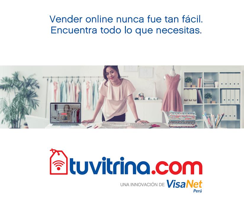 tuvitrina visanet - VisaNet busca dinamizar el comercio electrónico con TuVitrina