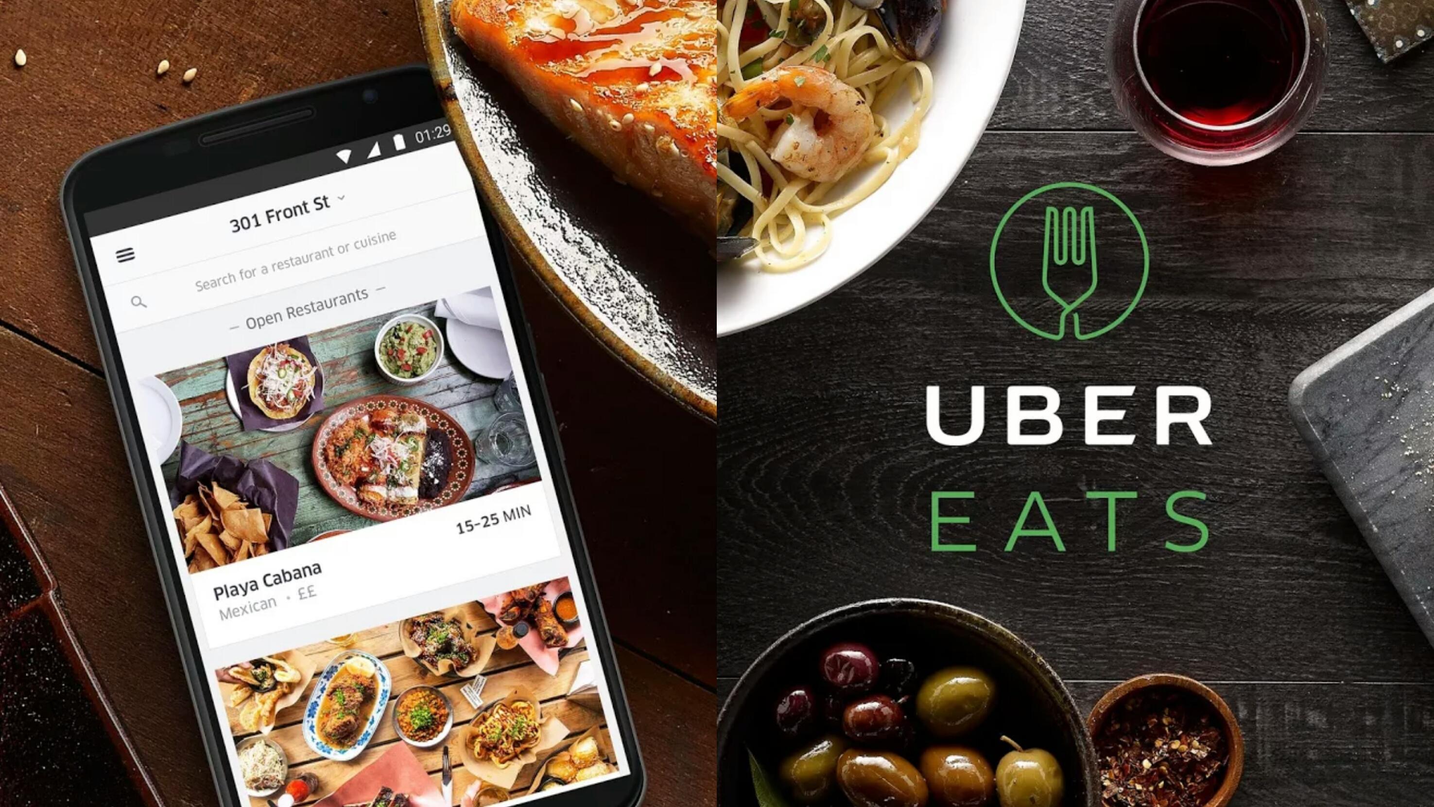 uber eats - Aplicaciones móviles de reparto a domicilio crecen en Ecuador