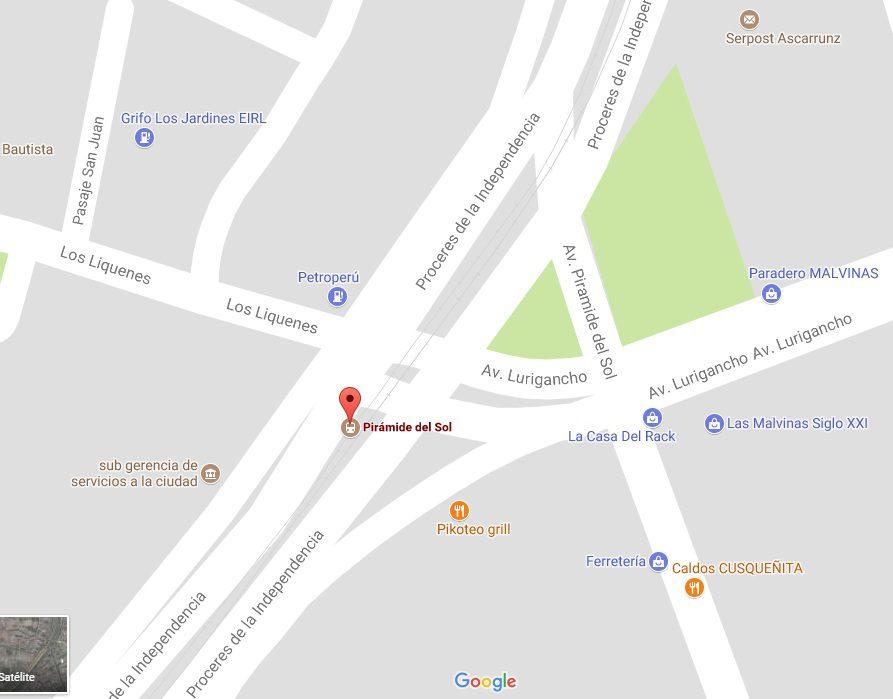 ubicacion mall aventura sjl