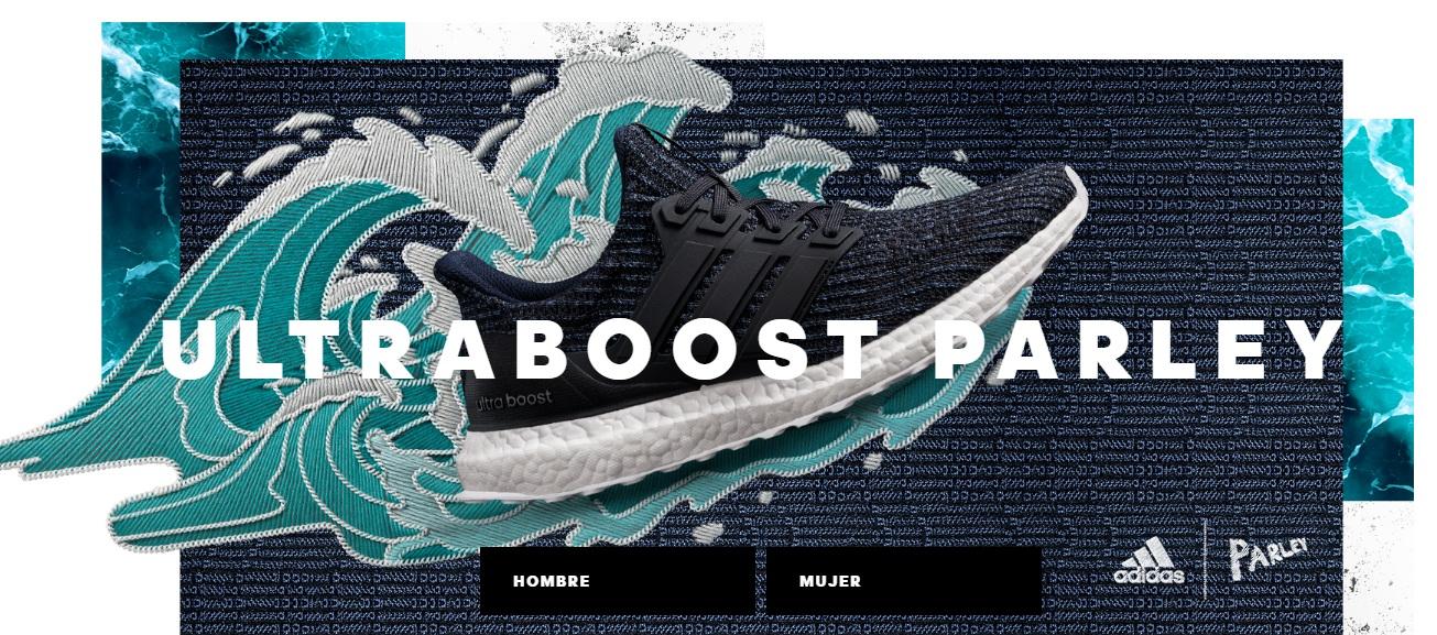 ultra boost parley - Adidas lanzó al mercado zapatilla eco-innovadora UltraBOOST Parley