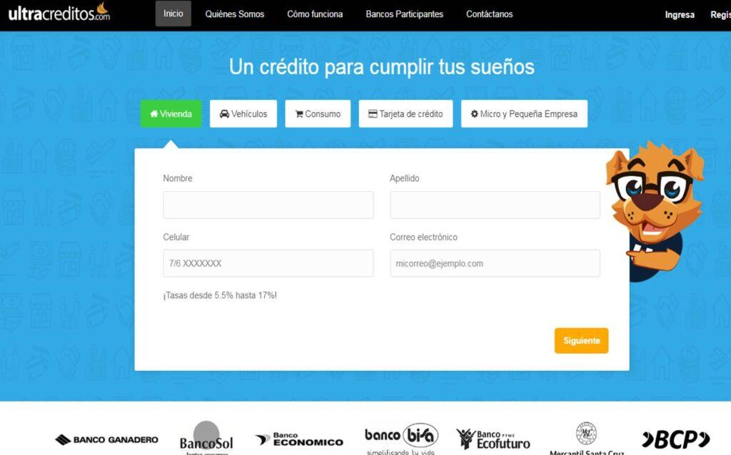 ultracreditos 1 Perú retail 1024x638 - Bolivia: Peluquería y belleza se incluirán en la aplicación MrJeff