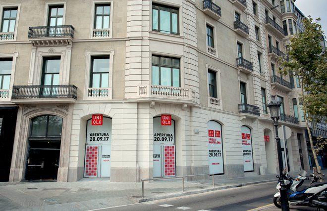 uniqlo barcelona 2017 - Uniqlo confirma fecha de apertura de su primera tienda en España