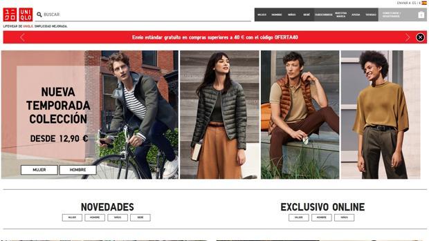 uniqlo tienda online español - Uniqlo lanza tienda online en español a un mes de abrir su primer local en España