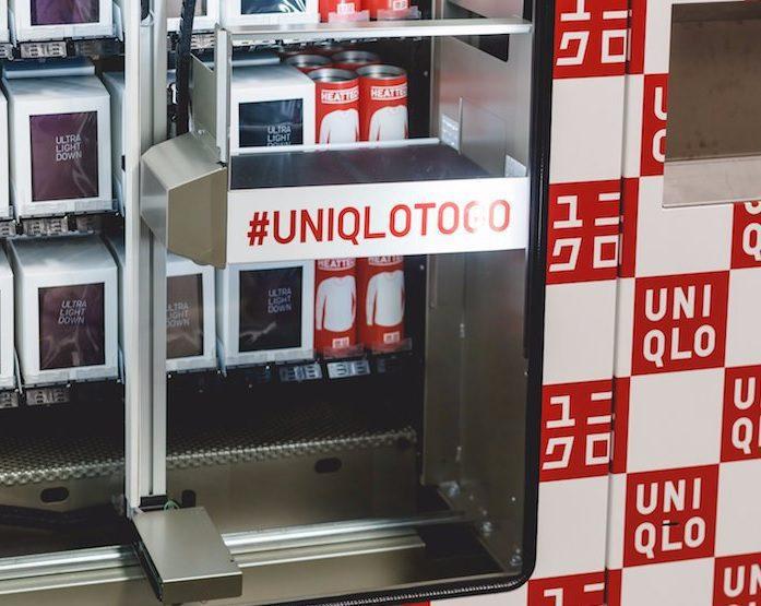 uniqlo togo - Uniqlo innova y lanza máquinas expendedoras de ropa