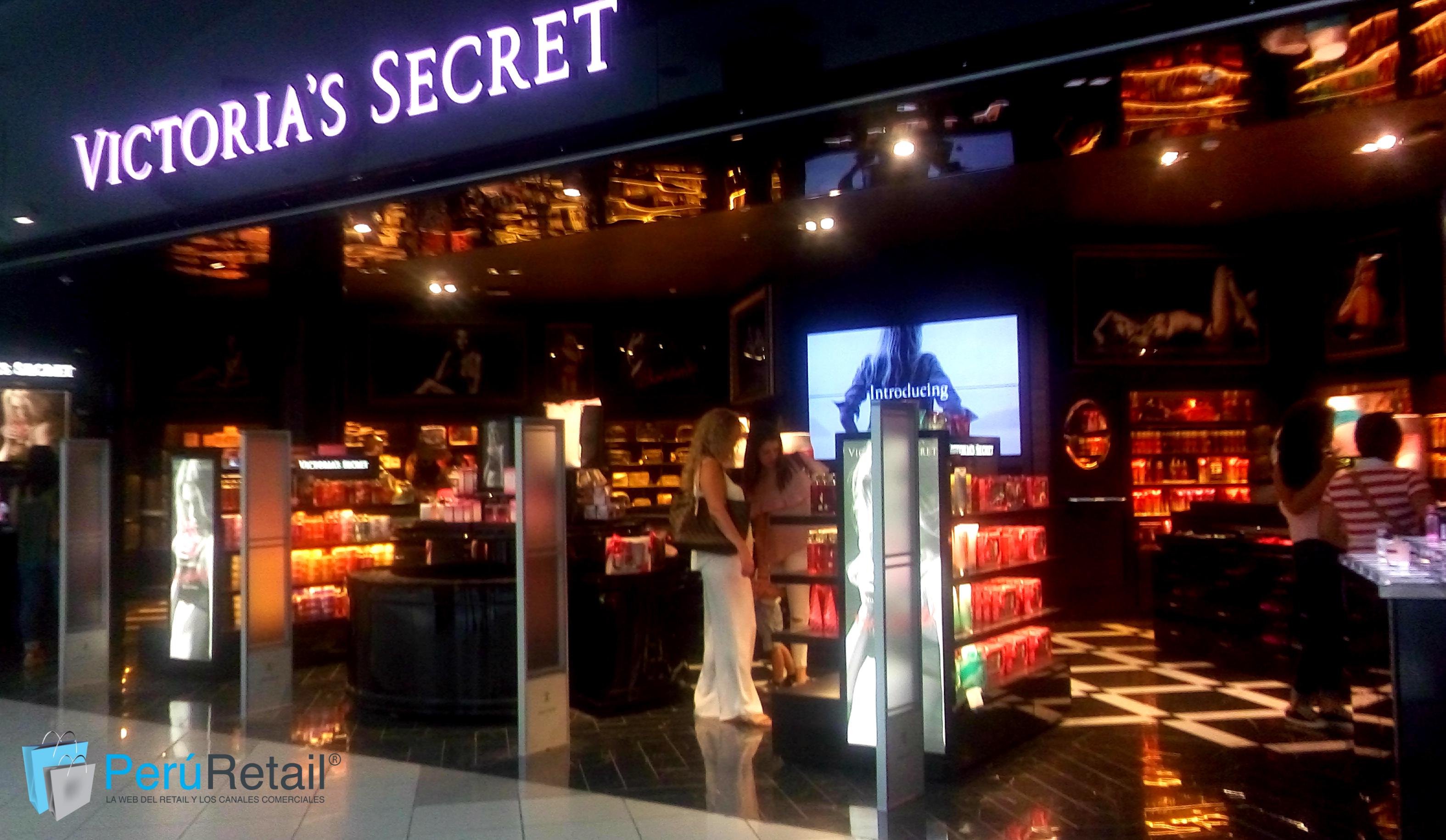 victorias secret 3 peru retail - Victoria's Secret planea abrir una tienda 'full concept' en el Jockey Plaza