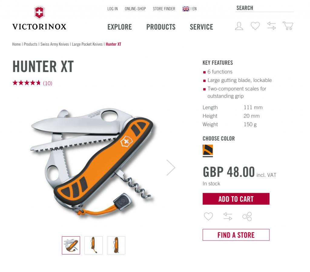 victorinox 1024x900 - Victorinox apuesta por el comercio digital en México