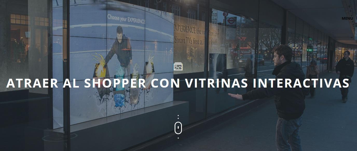 vitrinas interactivas - Las vitrinas interactivas han llegado para quedarse