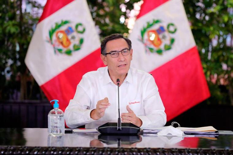 """vizcarra 2 - Perú: """"380 mercados serán intervenidos este mes por el COVID-19"""""""