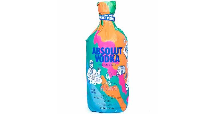 vodka absolut 1 perú retail - Absolut Perú Edition solo tendrá 10 mil unidades