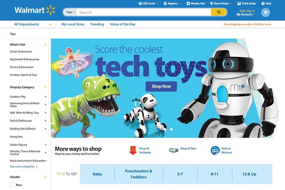 walmart big - Walmart rediseñará su web para hacerle frente a Amazon
