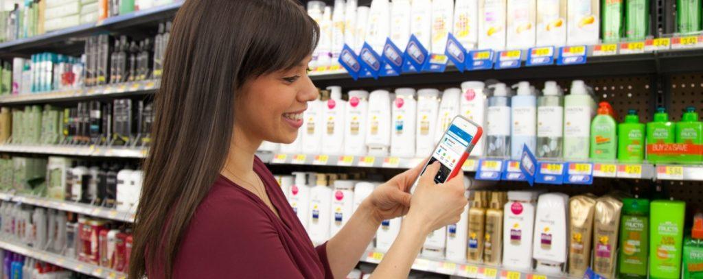 walmart compras tienda 1024x407 - Estas son las consultas móviles que determinan las compras en tiendas físicas