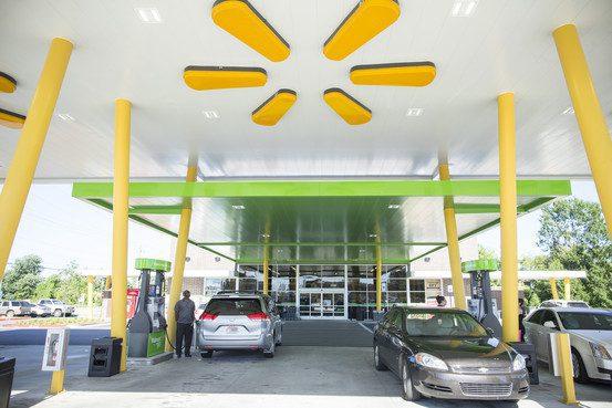 walmart estacion de servicio