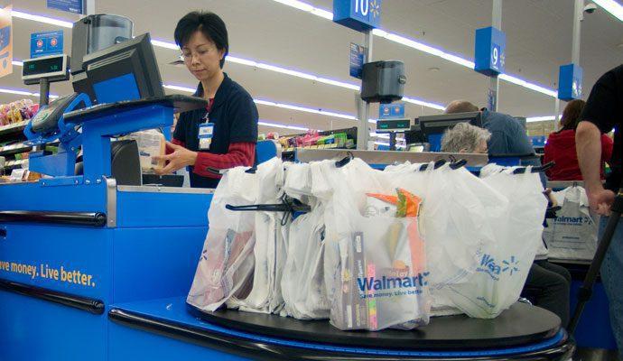 walmart le dice adios a bolsas plásticas - Walmart le dice adiós a las bolsas de plástico