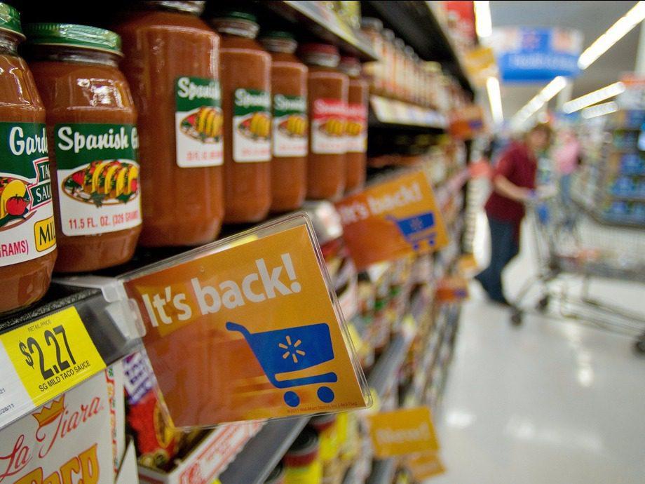 """walmart productos - Walmart subirá sus precios por la """"guerra"""" de aranceles entre Estados Unidos y China"""