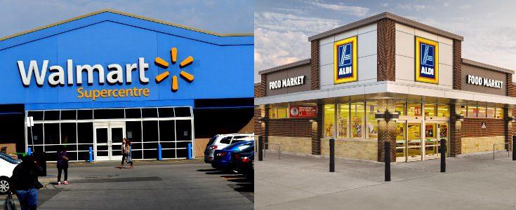 walmart vs aldi - Walmart lanza programa para comparar precios en Estados Unidos