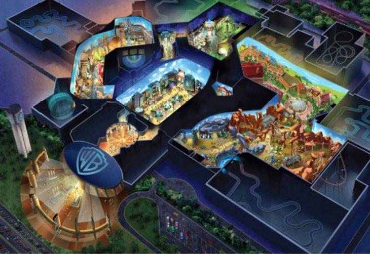 warner park 730x502 - Parque temático de Warner Bros abrirá en Abu Dhabi