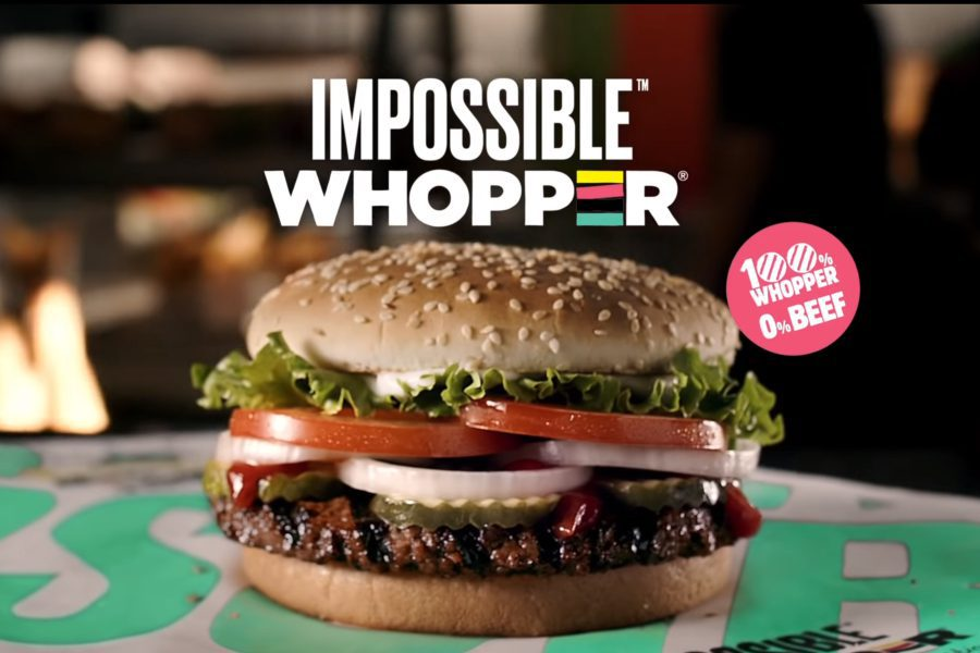 whopper burger king - Desde mañana Burger King venderá hamburguesa vegetariana