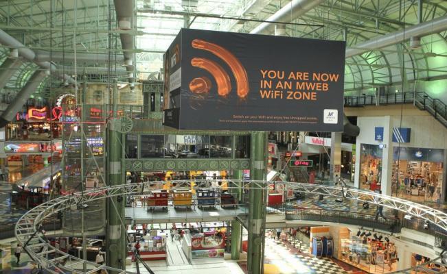 wifi en malls