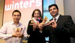 winters 2 248x144 - Perú: Winter's lanza nuevas barras de chocolate