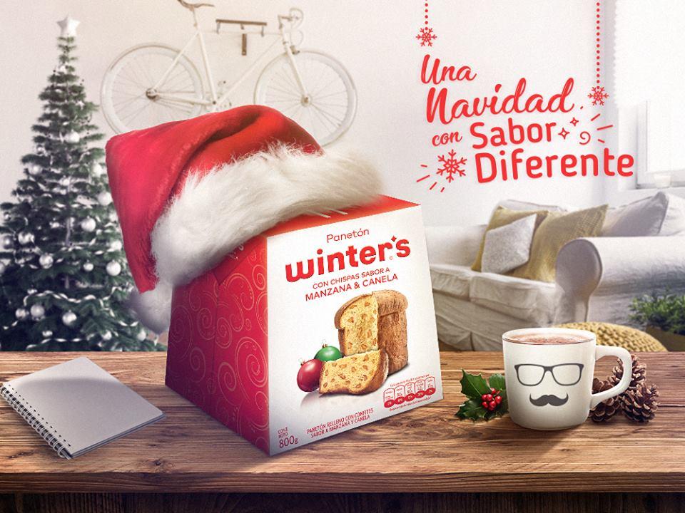 winters panetón 2 - Winter´s lanza nuevas presentaciones y sabores de panetones