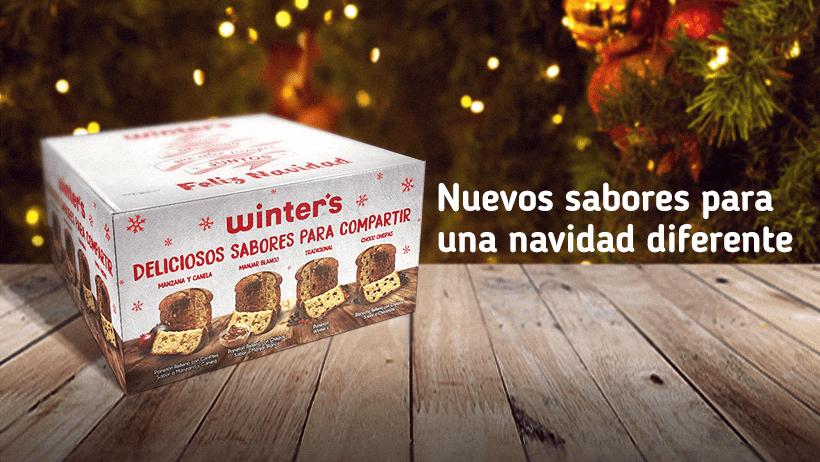 winters panetón - Winter´s lanza nuevas presentaciones y sabores de panetones