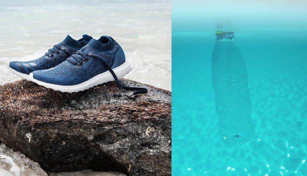 zapatillas adidas reciclables - Adidas construye una cancha de fútbol con 1.8 millones de botellas de plástico