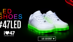 zapatillas led 47 street