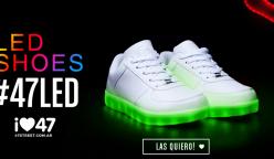 zapatillas led 47 street 248x144 - 47 Street lanza sus nuevas zapatillas con luces led