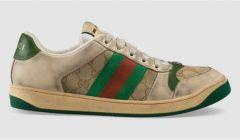 zapatillas sucias 240x140 - Gucci lanza una nueva línea de zapatillas sucias que cuestan más de US$700