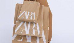 zara le dice adiós a las bolsas de plástico 248x144 - Zara le dice adiós a las bolsas de plástico y usará bolsas de papel reciclado
