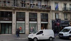 zara paris francia