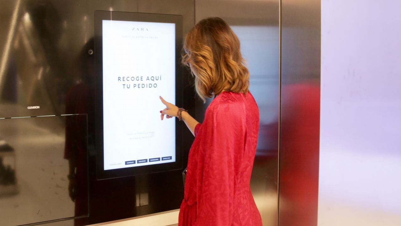 569de6f59d Zara apuesta por la automatización en sus tiendas